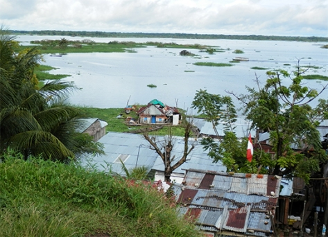 Part of the Belen District, Iquitos, Peru